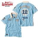 【ワーソンモータース/Warson Motors】Siffert シフェール ポロシャツ メンズ 半袖 ポロシャツ F1