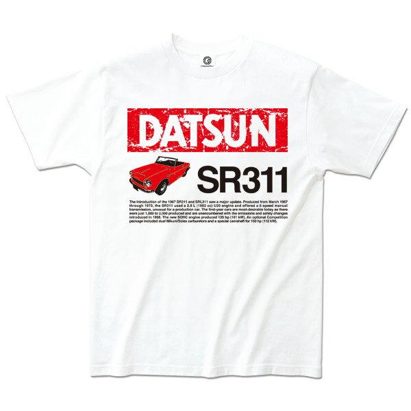 トップス, Tシャツ・カットソー  T SR311 DATSUN