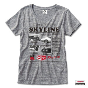 日産カスタムアパレルプロジェクト 半袖Tシャツ ケンメリ Advertising(KENMERI AD)オーセンティックグレー(メンズ かっこいい おしゃれ xlサイズ ティー ビッグtシャツ ゆったり 大きいサイズ 夏服 メンズtシャツ ティーシャツ)