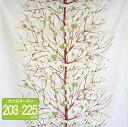マリメッコ オーダーカーテン 丈203cm〜225cm LUMIMARJA(ルミマルヤ)/GREEN【店頭受取も可 吹田】