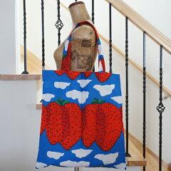 【送料160円(メール便)】【正規販売品】マリメッコ(marimekko)のエコバッグでエコを楽しく...