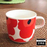 マリメッコ コーヒーカップ UNIKKO(ウニッコ)/RED【店頭受取も可 吹田】