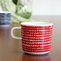 マリメッコ コーヒーカップ SIIRTOLAPUUTARHA/RASYMATTO(ラシィマット)/RED【店頭受取も可 吹田】