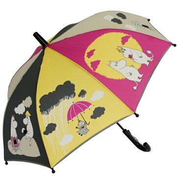 ムーミン 子供傘 イエロー&ピンク