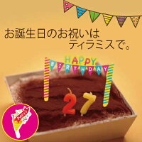 ☆バースデーティラミス・お誕生日ケーキ・パーティーに☆