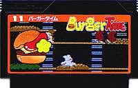 ▼【ゆうメール2個まで200円】FC ファミコンソフト ナムコ バーガータイムアクションゲーム…