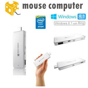 ◆◇限定販売!ホワイト/64GB ストレージ◇◆マウスコンピューター [ MS-NH1-64G ] スティック...