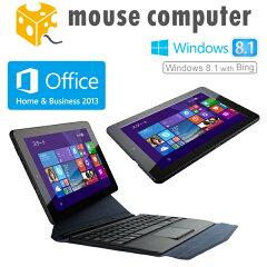 【6/26~エントリーでポイント5倍♪】マウスコンピューター [ WN891 ] 8.9型タブレット【 Windows 8.1 with Bing/Atom Z3735F/2GB メモリ/ストレージ 32GB/着脱式キーボード付属/Microsoft Office Home and Business 2013搭載 】