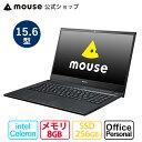 ノートパソコン office付き 新品 mouse F5-c