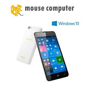 ★ポイント10倍★送料無料★ マウスコンピューター Windows Phone 「MADOSMA」 Q501A-WH 【 Windows 10 Mobile/約5.0インチ/LTE対応/1GB メモリ/16GB micro SDカード同梱/SIMフリー/ホワイトモデル 】