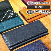 【公式】DOUBLESダブルス財布ウォレット革小物長財布wallet本革レザーDMO-7483