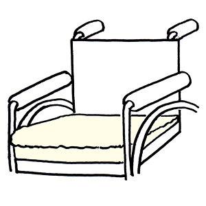 [送料無料]ALIVE車いす用クッション[医療用・介護用品・床ズレ防止・サポート用]