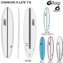 サーフボード torq トルク CI CHANCHO X-LITE 7'6 FUTURES TRY FINBOX アルメリック ファンボード ミドルレ...