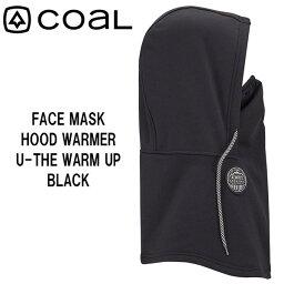 【ストアポイントアップデー】/スノーボード バラクラバ ネックウォーマー フェイスマスク COAL コール WARM UP ウォームアップ BLACK お買い得 特価 コロナ対策 メール便配送