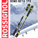 ROSSIGNOL【ロシニョール】DEMO BETA TPX+AXIAL3 120 Tpi2 B80 Black Yellow 【rsg-sk】