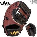 野球 ファーストミット 一般軟式用 HATAKEYAMA ハタケヤマ TH-Pro SERIES 一塁手 プロモデル 坂口智隆モデル ブラック/Tブラウン