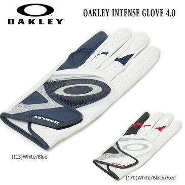 ゴルフ グローブ 手袋 一般 オークリー OAKLEY INTENSE GLOVE 4.0 片手用 左手用 あす楽