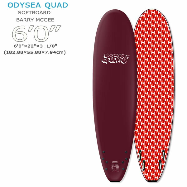 サーフィン・ボディボード, サーフボード 19 CATCH SURF BARRY MCGEE x JOHN LAZCANO MODELS ODYSEA 60 QUAD sp-cth catch-s