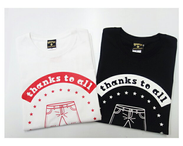 "MIGHTY'S マイティーズ MOVECLOTHING 25周年記念Tシャツ ""thanks to all""【あす楽対応】"