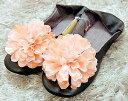 まるでお姫様みたいなスリッパ☆ プチプラなのにこんなに可愛くってスミマセン!!【Flower Room...