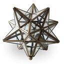 【送料無料】【smtb-k】【Etoileテーブル・ランプ】エトワールテーブル・ランプモロッコの夜空に輝く星 フランス語で星 真鍮 星型テーブルランプ ビンテージ加工 職人 手作業 フロストガラス クリア