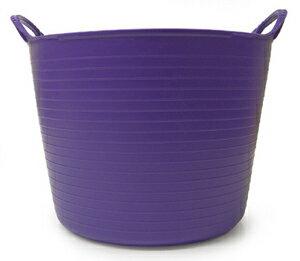 【TUBTRUGS(Lサイズ/Purple)】タブトラッグス(Lサイズ/パープル)バケツ ヨーロッパ エコ リサイクル バッグ アウトドア ポップ キュート カラー バリエーション 多サイズ 多色 便利 ランドリー バス ゴリラ
