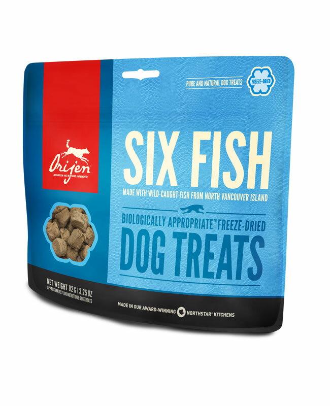 オリジン フリーズドライトリーツ シックスフィッシュ  42.5g 犬のおやつ 6フィッシュ