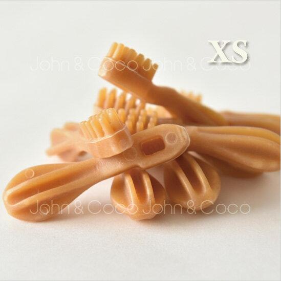 ウィムズィーズ ハブラシXS 8本入 whimzees デンタル ガム 歯ブラシ型 ナチュラル 歯磨き ハミガキ おやつ オヤツ