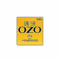 【明治薬品】オゾ 25g【第3類医薬品】☆☆※お取り寄せ商品【RCPmar4】