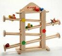 プレイミー フラワーガーデン 知育玩具 木のおもちゃ スロープ 出産祝い