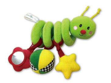 スマイルキッズ スパイラルバグ 知育玩具 布おもちゃ 出産祝い
