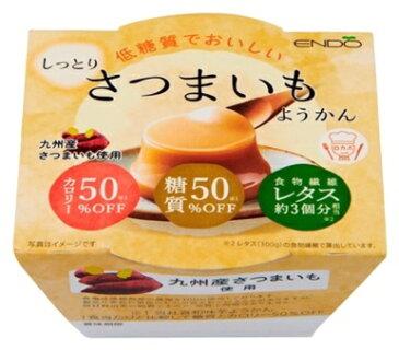 遠藤製餡低糖質でおいしいさつまいもようかん90g×6個入り【常温保存可能】【低糖質】