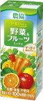 農協野菜Days【野菜&フルーツミックス】200ml×18本入り★【常温保存可能】♪
