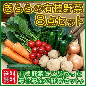 有機野菜にこだわった、安心安全の野菜セットです。すべて安心・安全の有機JAS認証取得農産物で...