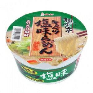 イトメン 麺喰い亭キャベツ塩味らーめんカップ 80g×12個入/箱〔ケース〕