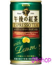 <1本当たり78円>キリン午後の紅茶エスプレッソティー・ウィズレモン 缶185g×30本入