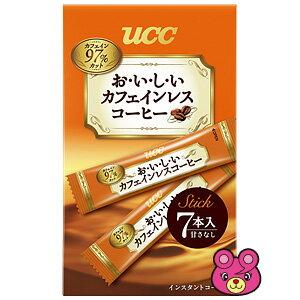 UCC おいしいカフェインレスコーヒー スティック 7P×24個入