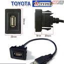 トヨタ プリウス50系 ZVW5# 専用USB接続通信ケーブル付きパネ...