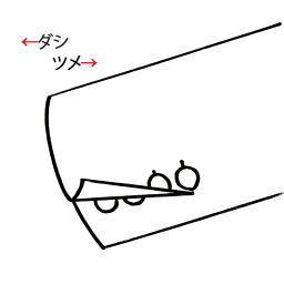TOPS 本切羽(袖ツメ・ダシ有り)