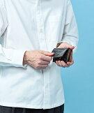 【MR.OLIVE(ミスターオリーブ)】【公式サイト】【MROLIVE】【E.O.I】BRITISHBRIDLELEATHERMINIWALLET【ブライドルレザー】牛革革財布財布日本製
