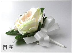 花かんむり*花冠*ヘッドドレス*クリーム*3点セット♪*フィールグッド*海外挙式*結婚式*ニ次会*前撮りH_0112