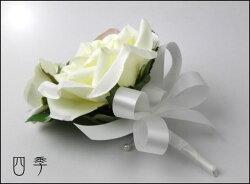 花冠*花かんむり*ヘッドドレス*カフェオレ*3点セット*グリム*海外挙式*結婚式*ニ次会*前撮りH_0113