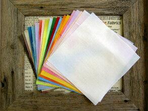 むら染めマーブル全20色15×15cmカット