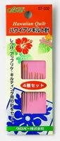 Hawaiian quilt-patchwork ☆ ☆ Hawaiian quilt needle