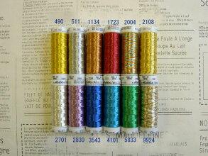メトラーメタリック糸全12色セット