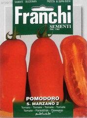 FRANCHI社-イタリア野菜の種【イタリアントマト・サンマルツァーノ】