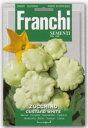 FRANCHI社-イタリア野菜の種【UFO型ズッキーニ・カスタードホワイト】14649