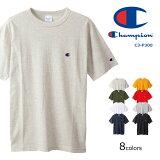 CHAMPION チャンピオン Tシャツ ワンポイントロゴ (C3-P300) 半袖Tシャツ 丸首 無地 定番 黄緑赤白紺黒 メンズ カジュアル アメカジ スポーツ ブランド