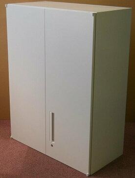 わけあり アウトレット(訳あり) 両開き書庫W800,H1050,D400ミリHS800 T−10U(B)【送料無料】