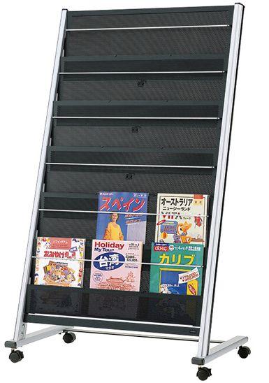 UCHIDA (内田洋行・ウチダ) パンフレットラック・パンフレットケース α-150型 3列6段 W823×D495×H1394ミリ 1-357-7015 :オフィス家具専門店モリタスチール